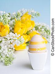 Easter egg for breakfast