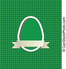Easter egg frame