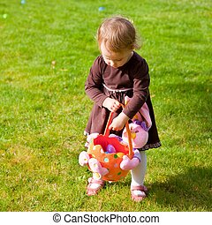 Easter egg hunt - Egg hunt is a game during which decorated ...