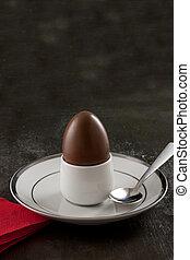 Easter Egg in Eggcup