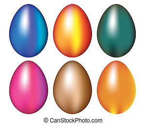 Easter Egg Ornamental Vector Art