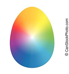 Easter Egg Rainbow Colors