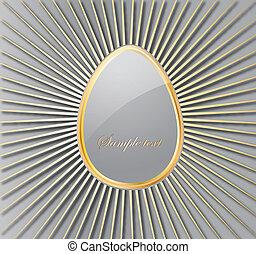 Easter Egg. Vector - Easter egg.Vector decorative...