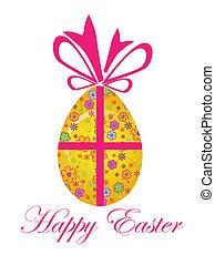 Easter egg - Vector illustration of easter egg