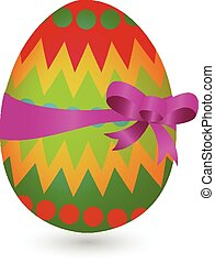 easter egg vector of illustration
