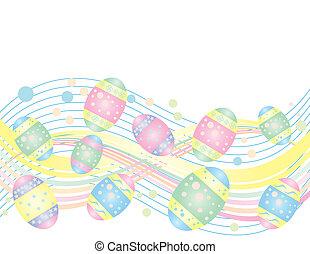 Easter Egg Wave