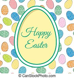 easter eggs and greetings