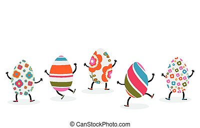 easter eggs characters