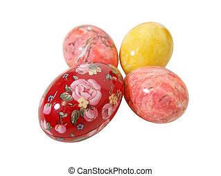 Easter eggs cross