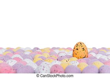 Easter eggs rising