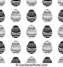 Easter eggs seamless