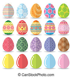 Easter eggs set