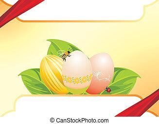 Easter festive background