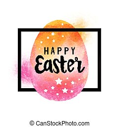 Easter Frame Design