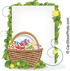 Easter gift basket