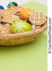 Easter Gingerbreads and Eggs