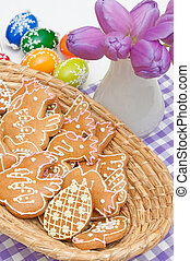 Easter Gingerbreads
