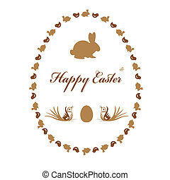 Easter greeting cards