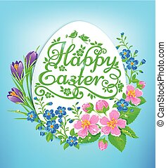 Easter greeting card vector clipart search illustration drawings easter greetings m4hsunfo Choice Image