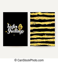 Easter Greetings Retro Posters