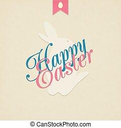 Easter Grunge Background