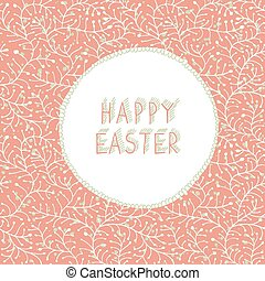 Easter Hand-drawn Card
