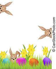 Easter hares - Background