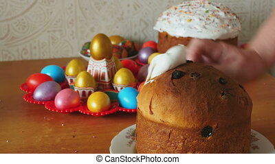 Easter holiday cake