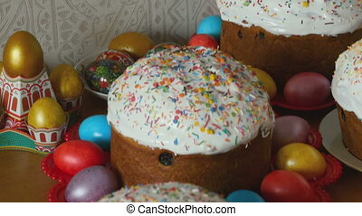 Easter holiday cakes