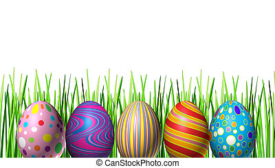 Easter holiday Eggs Decoration