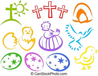 Easter Icons - icons for easter