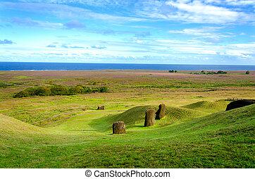 Easter Island Landscape
