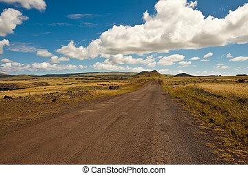Easter Island Road