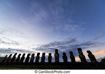 Easter Island Sunrise