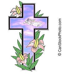 Easter Morning Cross