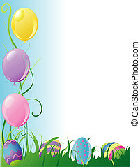 Easter Party border