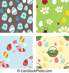 Easter pattern set