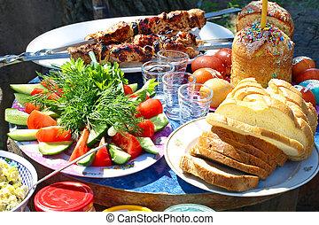 Easter picnic.