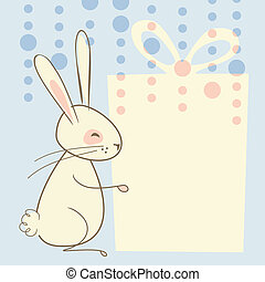 Easter Rabbit Background