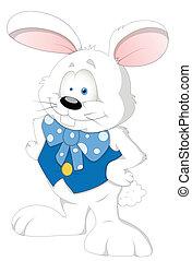 Easter Rabbit Cartoon Character