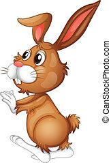 Easter rabbit - Illustration of an easter rabbit