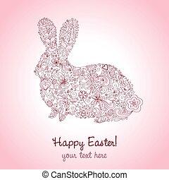 Easter Rabbit Pink
