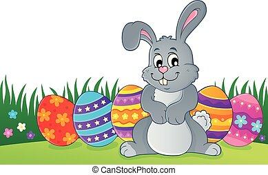 Easter rabbit thematics 1
