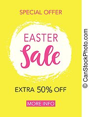 Easter Sale Banner Design