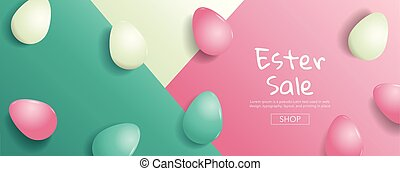 Easter Sale ,Bright Sweet fashion Style. Pop Art. Creative ...