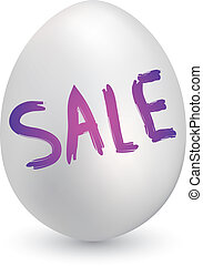 Easter sale sketch - Doodle style retail sale sketch on ...