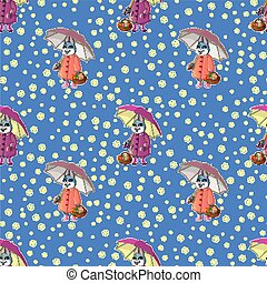Easter seamless pattern-01
