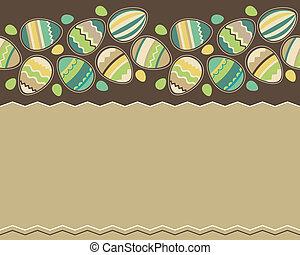 Easter spring pattern
