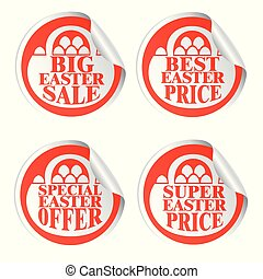 Easter stickers big sale,special offer,best price,super price with basket