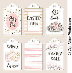 Easter tags for holiday sale